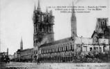 """17673  Belgio, Ypres, Bataille De  L""""Yser , Interieur Des Halles Apres Le Bombardement,  La Guerre 1914-15,  NV(scritta) - Ieper"""
