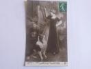 Jeune Fille Au Colley. - Dogs
