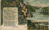 ALLEMAGNE - Gruss Von Der WESER - Mit Weserlied - Hoexter