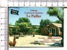 CARTONNETTE PUBLICITAIRE  -   Auberge    LE PAILLER -  VEZOUILLAC -  VERRIERES  - 12 - Plaques Publicitaires