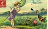ANGES A LA CHASSE AUX PAPILLONS - Angels
