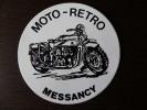 1  Autocollant    Pub     MOTO - RETRO     MESSANCY - Autocollants