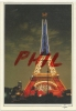 Paris, La Nuit  - La Tour Eiffel En Fête, Ref 1107-594 - Paris Bei Nacht
