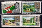 Burundi 1967 SC# 218-221 (1) - Burundi
