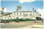 Detroit - The Briggs Stadium Navin Field Tiger Stadium - 1960  - Corktown Neighborhood - Back Is Stamped And Written - Detroit