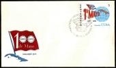 CUBA HABANA 1990 - CENTENARIO 1° DE MAYO - 1890/1990 - FDC - Non Classificati