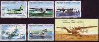 Congo Hydroplanes Aviation MI1425-29+Block 126 - Avions