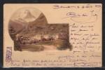 ZERMATT CPA 1898 Rare (infime Pli D'angle) - Sin Clasificación