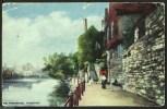 """The Promenade, Maidstone"".  Postally Used C1910. - England"