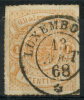Luxembourg (1865) N 16a Obt - 1859-1880 Coat Of Arms