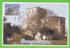 VAUX SUR MER - Eglise Abbatiale (Cachet Premier Jour D´Emission Sur Timbre En Rapport) - Vaux-sur-Mer