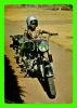 MALAWI, AFRIQUE - NINO, ENFANT SUR UNE MOTO - CIRCULÉE EN  1972 - EDICIONES EDACAF - - Malawi