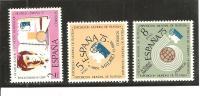 España/Spain-(MNH/**) - Edifil  2174-76 - Yvert  1831-33 - 1971-80 Nuevos & Fijasellos