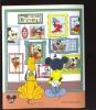 #  551-4 MINT NEVER HINGED SOUVENIR SHEET OF DISNEY  ; PORTRAIT GALLERY ;   (  ST.VINCENT  GR  1994 - Disney