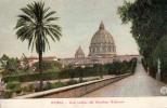 ROMA - UNA VEDUTA DEL GIARDINO VATICANO - 39 - Roma