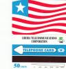 LIBERIA - Liberian Flag, First Issue 50 Units, Mint - Liberia