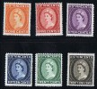 ST VINCENT  1955 Queen Elizabeth II Definitives MH * - St.Vincent (...-1979)