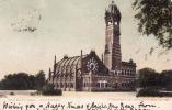 Allahabad, India - The Mayo Hall. Postally Used, Undivided Back, 1906. - India