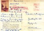France - Carte Postale De 1950 - Tour Eiffel - Avec Vignette - France