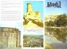 Ancien Dépliant Touristique Sur Penafiel, Valladolid - Espagne (1969) - Europe