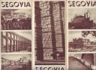 Ancien Dépliant Touristique Sur Segovia (Ségovie) - Espagne (vers 1950) - Exploration/Voyages