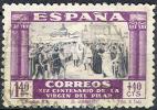 # Spain    B118, Used,  SCV $30,      (sb118-1, Michel 868 - Bienfaisance