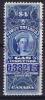 Canada 4 Dollar Gas Inspection 1897 - Fiscali
