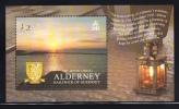 Alderney Scott #262 MNH Souvenir Sheet 2pd The Homecoming - Alderney