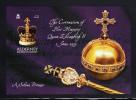 Alderney Scott #202 MNH Souvenir Sheet 2pd 50th Anniversary Coronation - Alderney