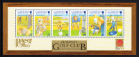 Alderney Scott #175a MNH Souvenir Sheet Of 6 Alderney Golf Club - Alderney