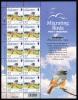 Alderney Scott #234 MNH Minisheet Of 10 32p Redstart - Alderney