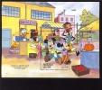 #  639-1  MINT NEVER HINGED SOUVENIR SHEET OF DISNEY   ; SETTINGS IN SIERRA LEONE ;  (  SIERRA LEONE   1204 - Disney