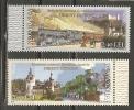 Romania. Scott # 5205-6  MNH. Orient Express. Joint Issue With Austria 2010 - Gemeinschaftsausgaben