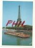 """""""Couleurs Et Lumière De France"""" - Paris, La Tour Eiffel Et La Seine, Ref 1107-640 - Tour Eiffel"""