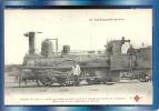 """CHEMIN De FER -(Cie De L´Etat)-Machine 2146- Dite """"Larochefoucault"""" Pour Train De Voyageurs(Fleury  N°22) - Trains"""