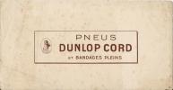 PNEU DUNLOP CORD - Automobile