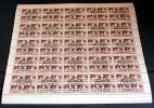Bogen 1981 Bauten70 Pfg. Minr. 2602 X 100 Marken - [6] Oost-Duitsland