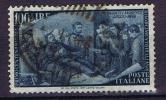 Italy: 1948 Michel 759, Used, 100 Lire Blue