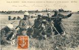 Soldats D'Infanterie Actionnant Une Mitrailleuse En Terrain Découvert - Superbe Carte  ( Voir Verso ) - Régiments