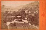 CABINET GRAND PHOTO ALBUMINE SUR CARTON **  VINTAGE ALBUMEN CABINET ** ROYAT LES BAINS (63) LEOPOLD CLERMONT FERRAND - Anciennes (Av. 1900)