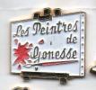 Beau Pin´s Sur La Ville De Gonesse Et Ses Peintres , Peinture , Toile , Chevalet - Cities