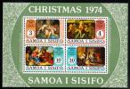 Samoa Scott #410a MNH Souvenir Sheet Of 4 Christmas - Samoa