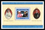 Samoa Scott #942 MNH Souvenir Sheet $5 50th Anniversary QEII And Prince Philip - Samoa