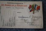 MILITARIA CARTE DE FRANCHISE MILITAIRE  F.M.  > GUERRE 14/18 >LON 69 - Marcophilie (Lettres)