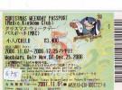 Disney * PASSPORT * Entreecard JAPON * TOKYO DISNEYLAND Passeport (678) JAPAN PASS * CHRISTMAS - Disney