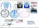Courrier Du Marion Dufresne, Oblitération LE PORT REUNION 1993 - Französische Süd- Und Antarktisgebiete (TAAF)