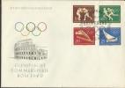 DDR - FDC 1960 Olimpiadi Di Roma - N. Mi 746 / 749 - [6] Repubblica Democratica