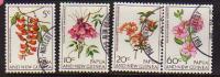 Papouasie. Fleurs (Rhododendrons) 4 T-p  Oblitérés. Yvert 101/04. Cote 4.00 € - Papua Nuova Guinea