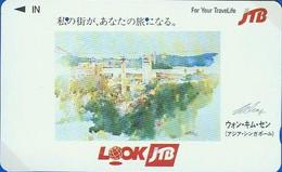 Télécarte Japon - Publicité JTB / Asie Asia - SINGAPOUR - SINGAPORE Related Japan Phonecard Telefonkarte - 110 - Paysages