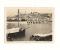 Photos, Bateau, Menton (06), Vue du Port sur la Fronti�re, C�te d'Azur, Dim : 9 x 6.5 cm